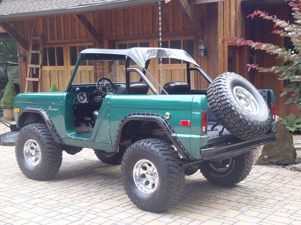Classic Ford Bronco Restoration
