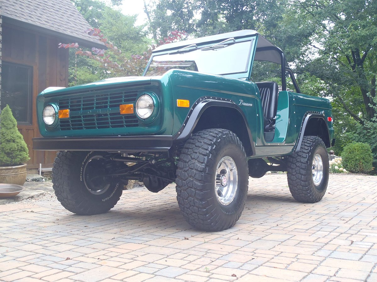 Lifted Early Bronco by Krawlers Edge