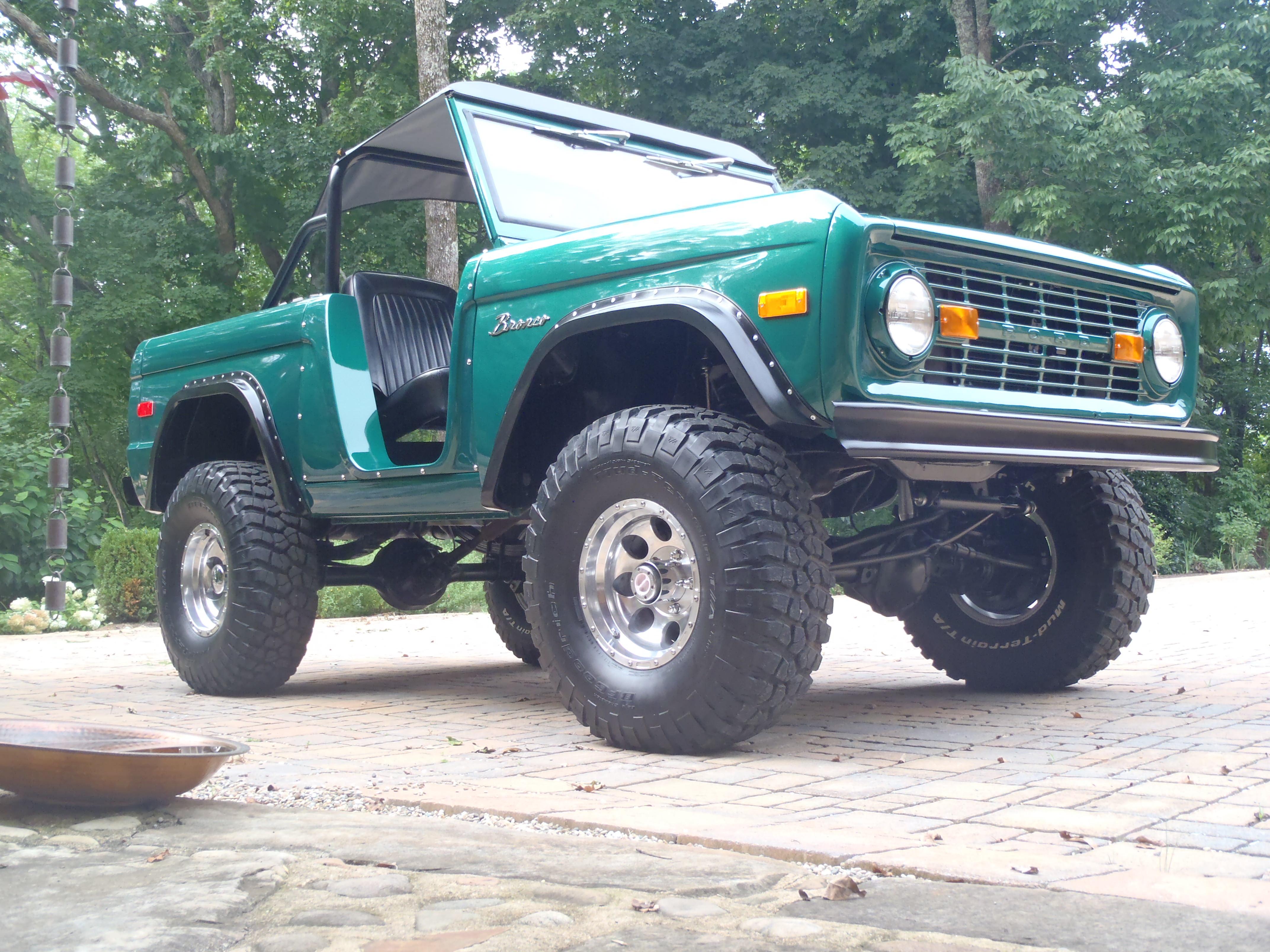 Custom Early Bronco by Krawlers Edge
