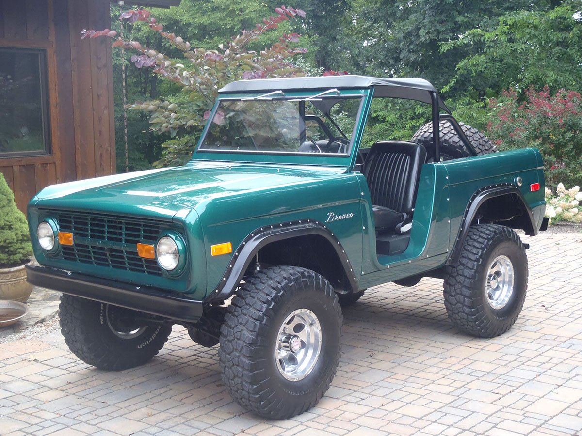 Restored Ford Bronco by Krawlers Edge