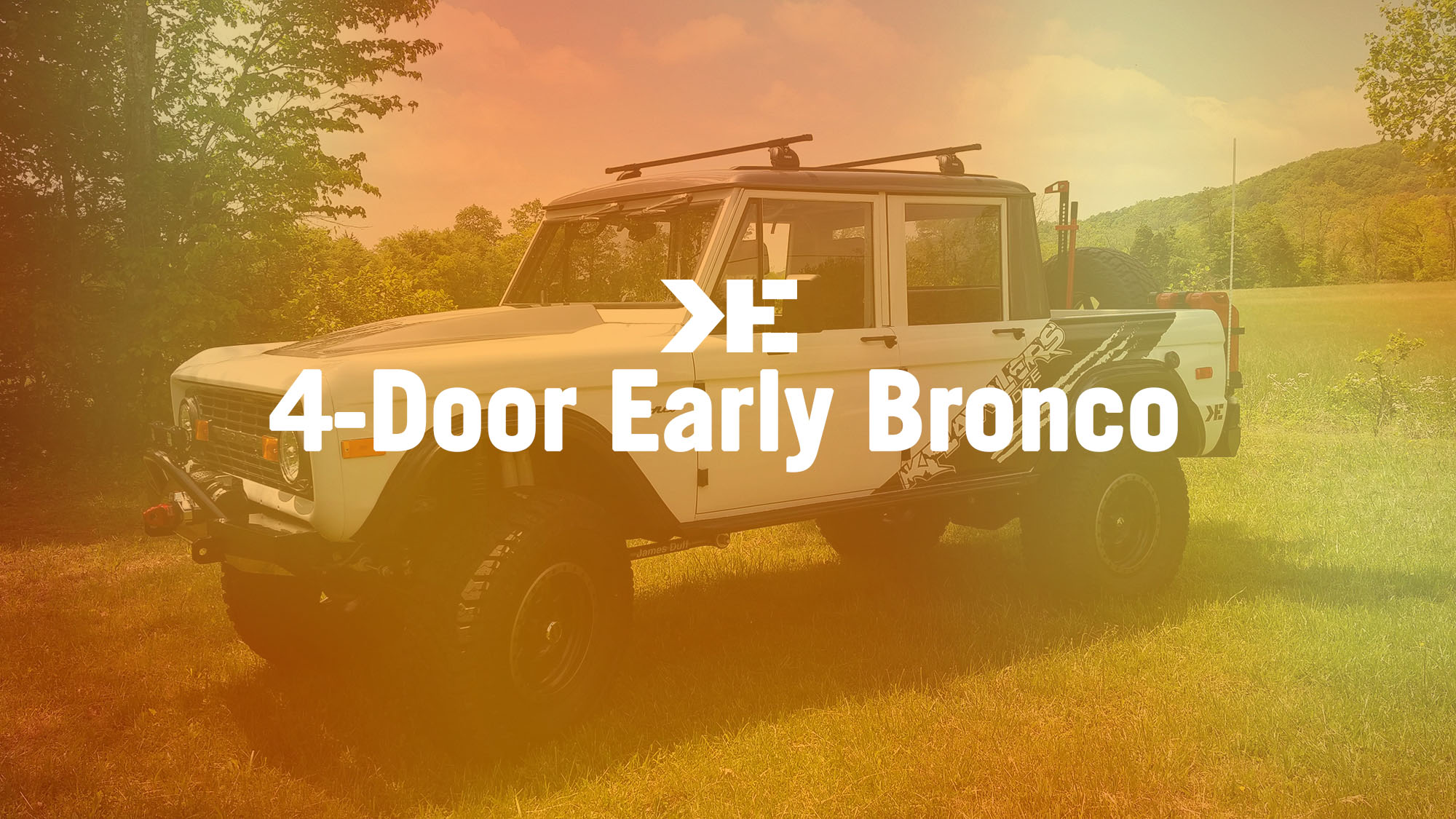 4 door Early Bronco by Krawlers Edge