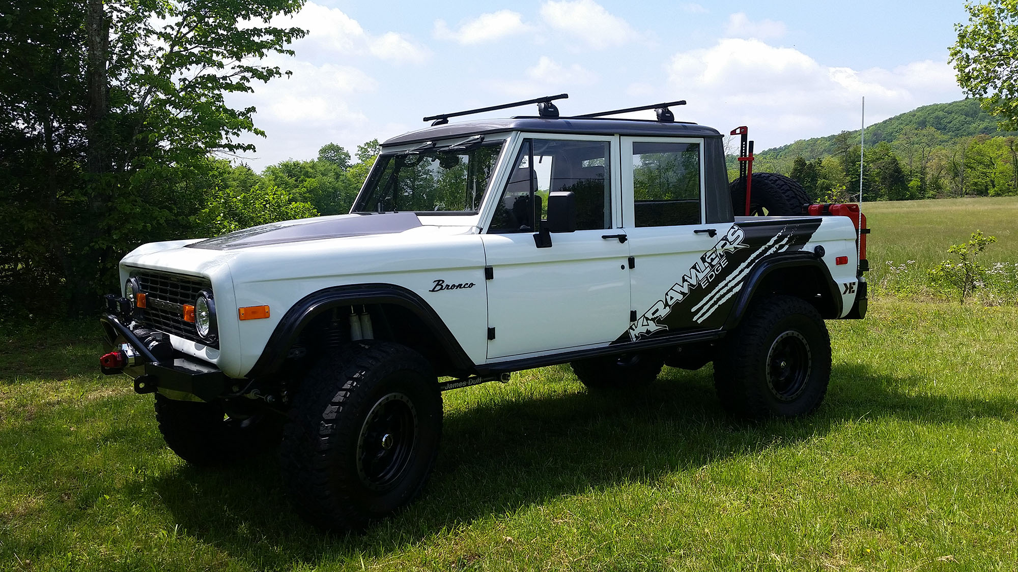 Diesel ford bronco for sale - Early Bronco By Krawlers Edge 4 Door
