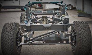 T2 Custom Early Bronco Chassis Frame By Krawlers Edge
