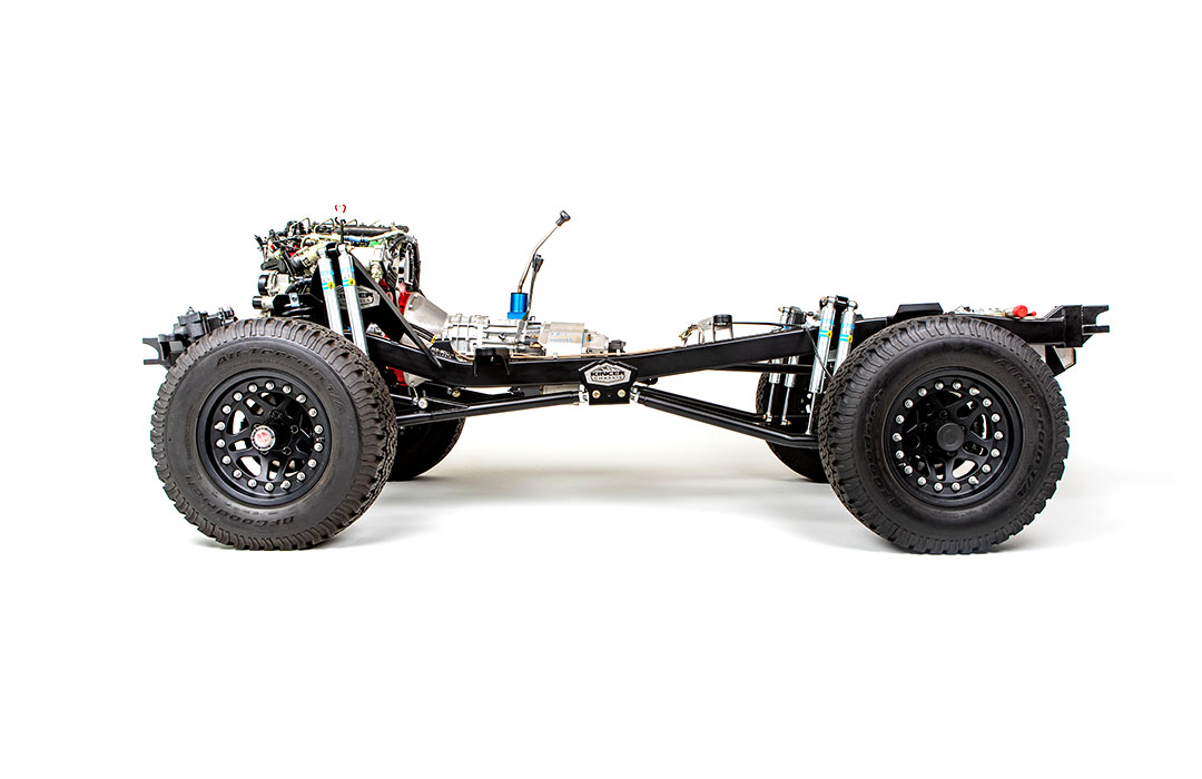 Kincer Chassis Builder Series Early Bronco Chassis for Krawlers Edge