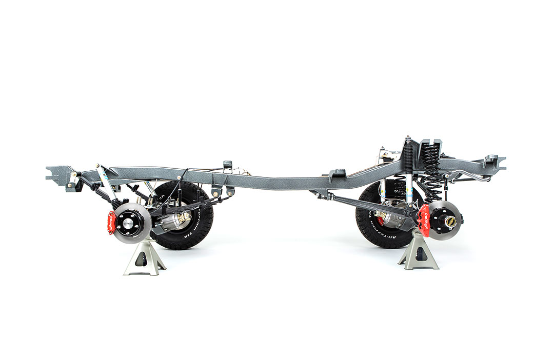 Kincer Chassis OEM Early Bronco Chassis